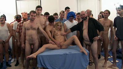 Czech Gang Bang Porn